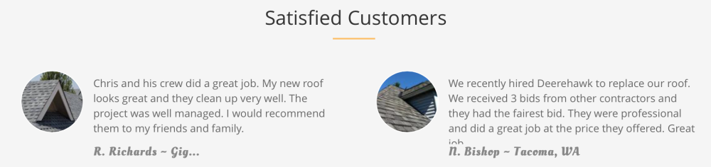Roofing Contractor Gig Harbor WA